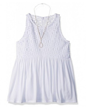 Amy Byer Racerback Babydoll Necklace