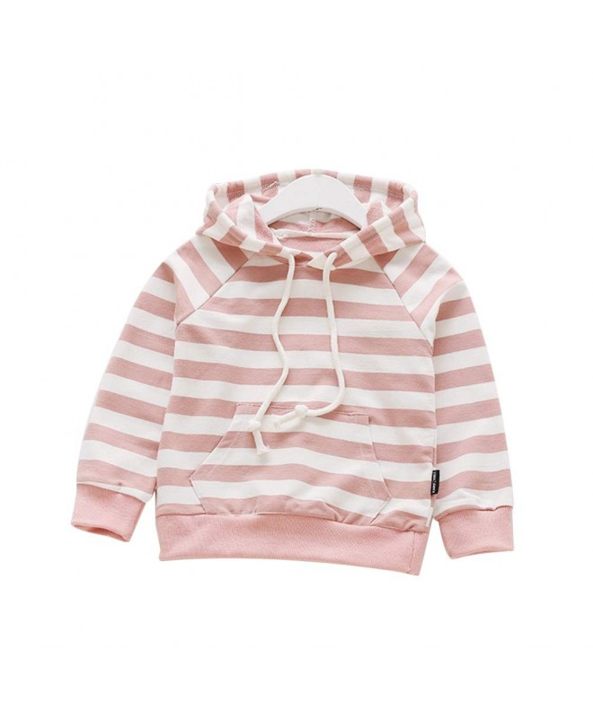 Verypoppa Baby Girls Boys Pullover Jumpers Cute Hooded Long Sleeve Sweater Top