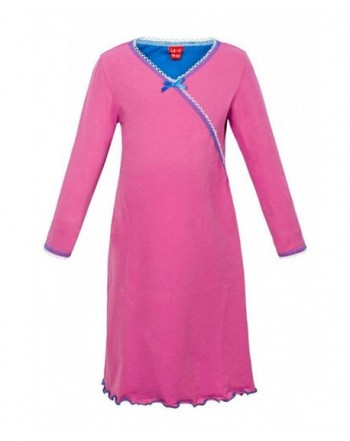 Girls Nightgown Pink Size 140 146