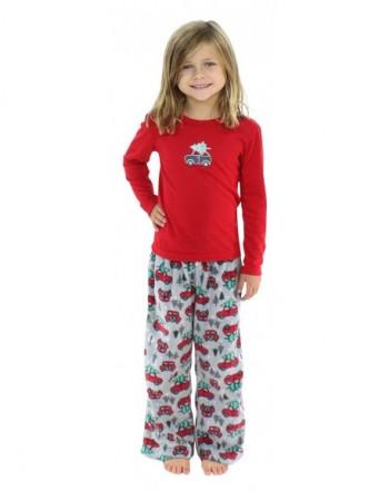 SleepytimePjs Kids Fleece Christmas Pajamas