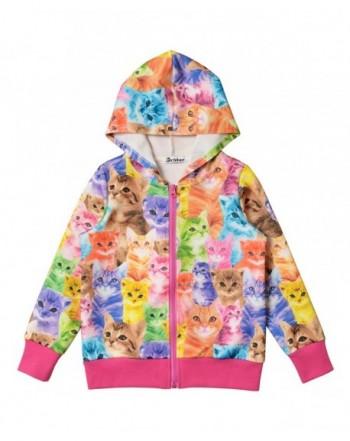 Hoodie Jacket Unicorn Sweatshirt Pockets