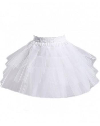 Girls Layers Wedding Flower Petticoat