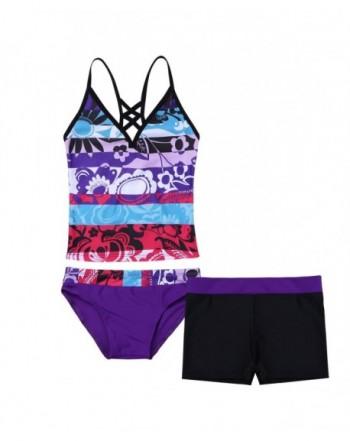 ranrann Printed Bottoms Swimwear Swimsuit
