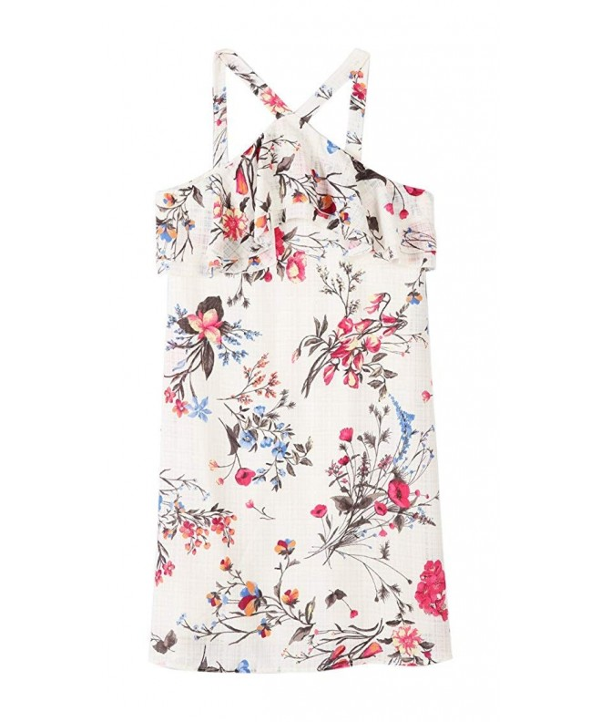 Speechless Girls Floral Chiffon Flutter