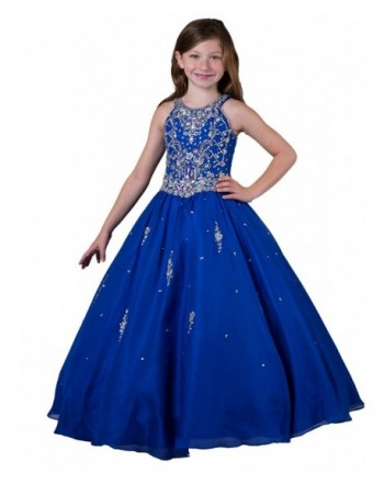 Wenli Little Length Pageant Dresses