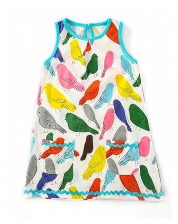 Hongshilian Playwear Sleeveless Dresses T Shirt