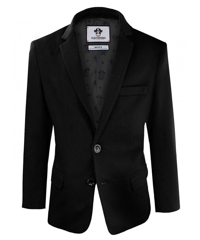 Black Bianco Blazer Jacket Presented