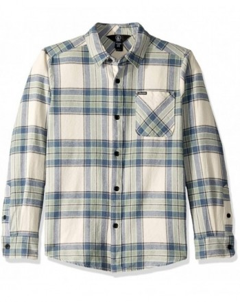 Volcom Caden Plaid Sleeve Flannel