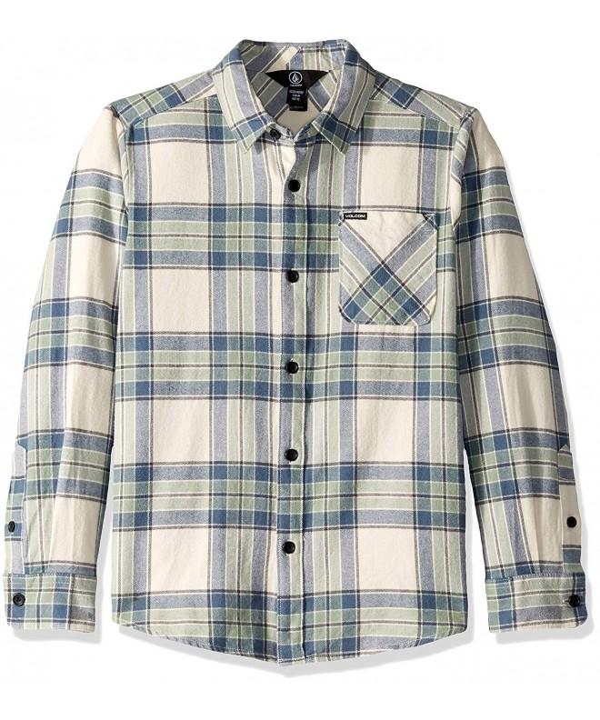 Volcom Caden Plaid Sleeve Flannel