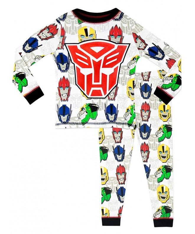 Transformers Boys Pajamas