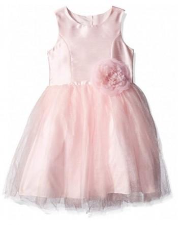 Pippa Julie Girls Shantung Dress