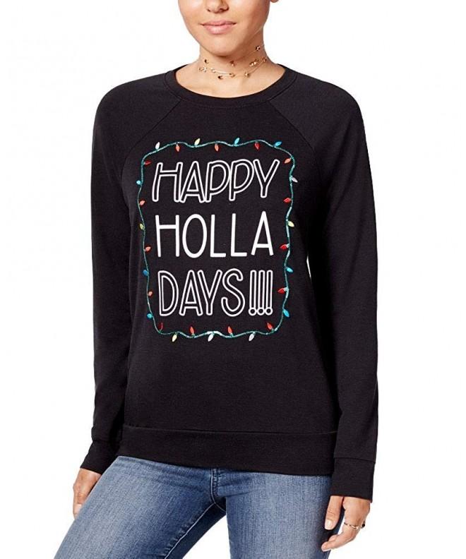 Pretty Rebellious Juniors Graphic Sweatshirt