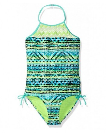 Angel Beach Girls Aztec Swimsuit