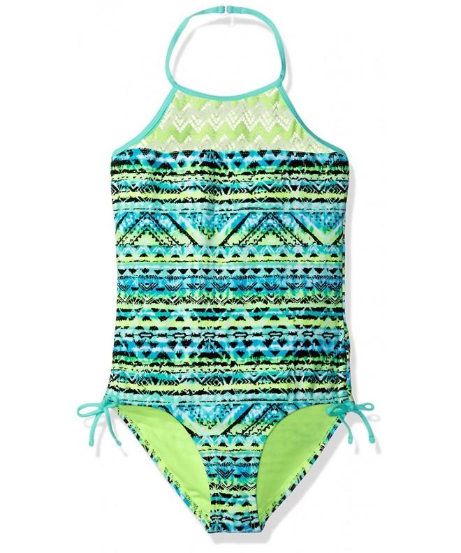 Angel Beach Girls Aztec Swimsuit