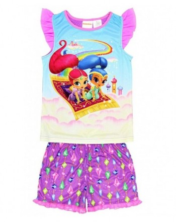 Nickelodeon Shimmer Shine Shorts Pajamas