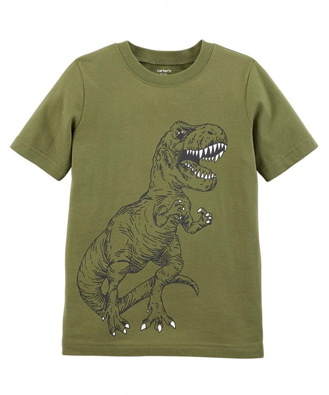 Carters Short Sleeve Dinosaur Raglan