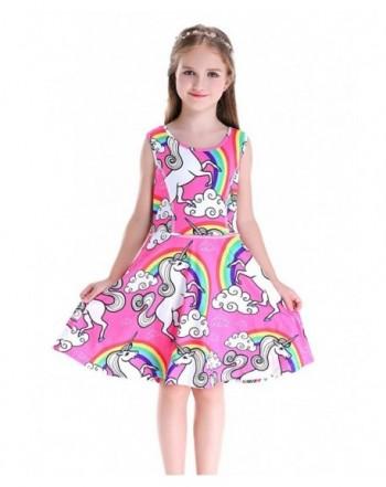 Happy Rose Sleeveless Dresses Unicorn
