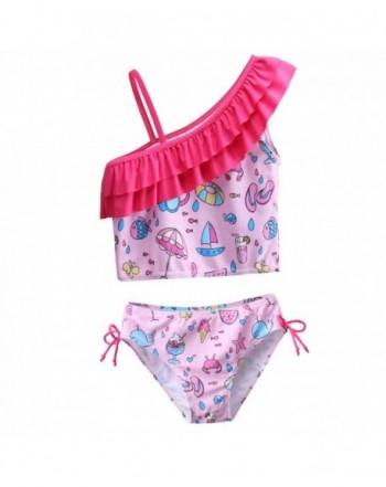 Little Flower Lovely Tankini Swimsuit