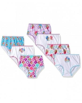 Nickelodeon Shimmer Shine Toddler Underwear