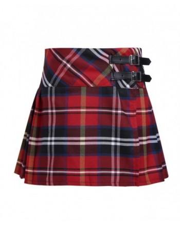 Freebily Pleated Miniskirt Classical Uniforms