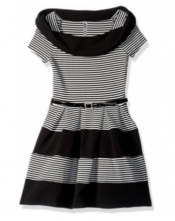 Beautees Girls Stripe Marylin Skater
