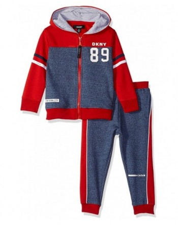 DKNY Boys York Fleece Hoody
