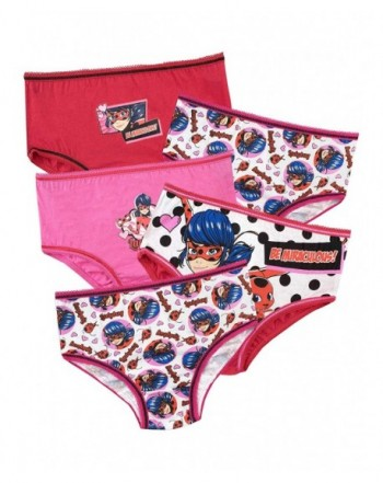 Miraculous Girls Ladybug Underwear Pack