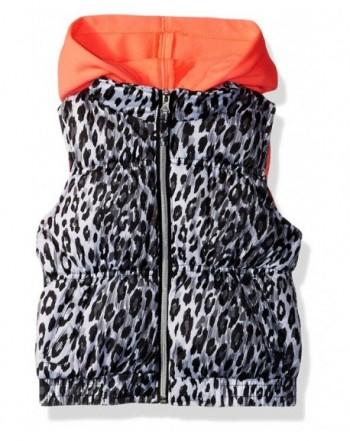 Pink Platinum Girls Cheetah Vest