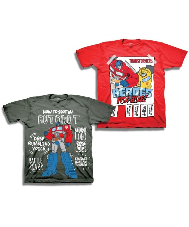 Transformers Boys Optimus Prime Shirt