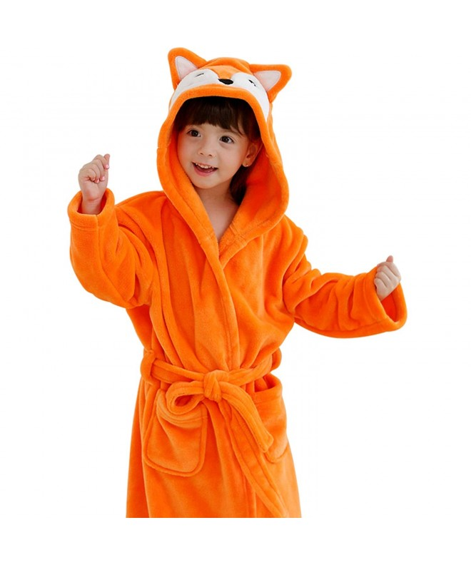 Hugmii Toddler Bathrobe Pajamas Sleepwear