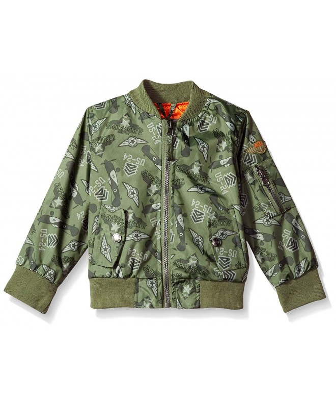 iXtreme Toddler Printed Flight Jacket