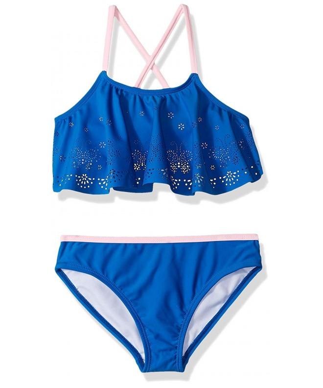 Rivstar Girls Butterfly Flounce Bikini