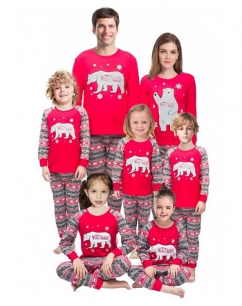 Little Holiday Family Matching Pajamas