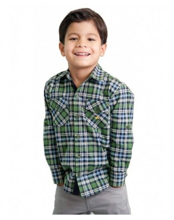 Dakomoda Toddler Cotton Green Plaid