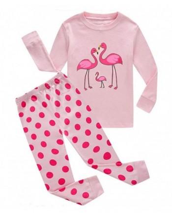 Pajamas Clothes Flamingo Christmas Sleepwear