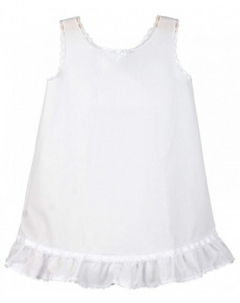 Collections Girls White Embellished Line