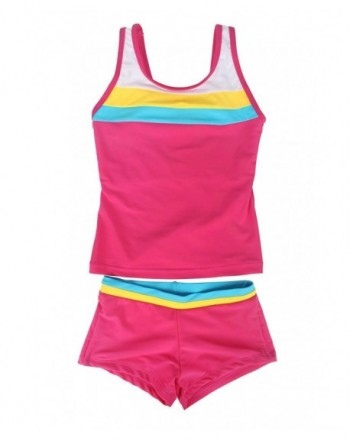 JerrisApparel Children Boyshort Tankini Swimwear