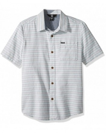 Volcom Eastport Chambray Sleeve Button