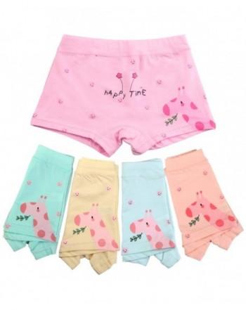 BOOPH Underwear Giraffe Panties Boyshort