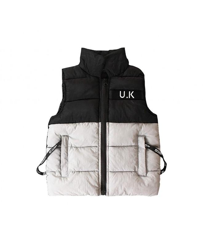 JooNeng Waistcoat Sleeveless Jackets Outerwear