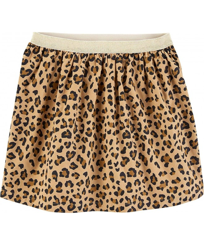 Carters Little Girls Leopard Print