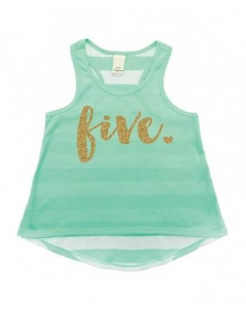 Birthday Shirt Girl Fifth Tank