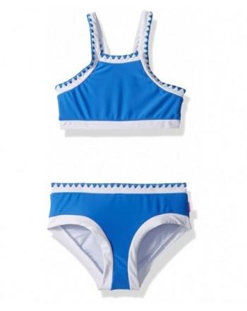 Seafolly Girls Crochet Tankini Swimsuit