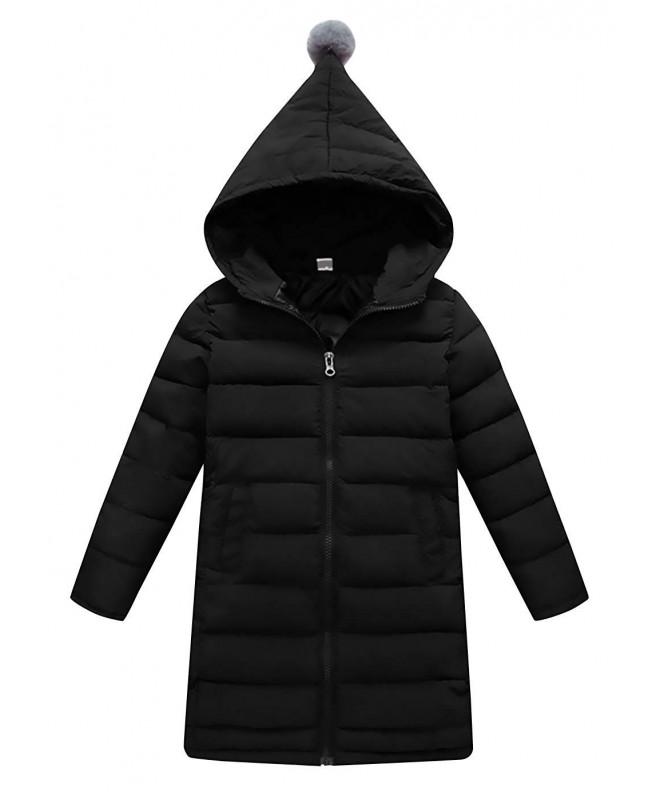 AIEOE Hooded Children Windproof Overcoat