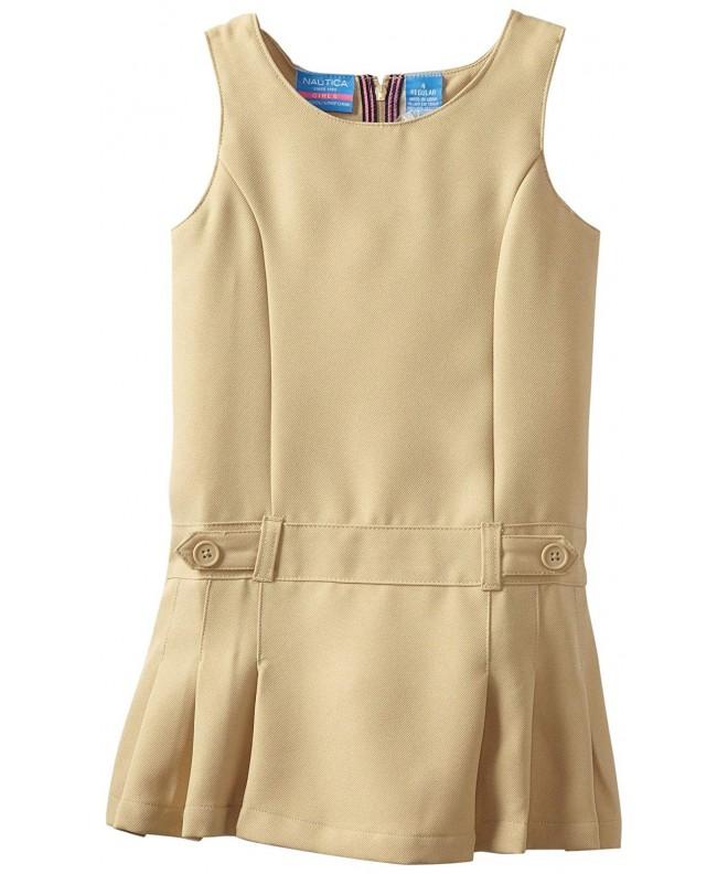 Nautica Girls Uniform Jumper Dress