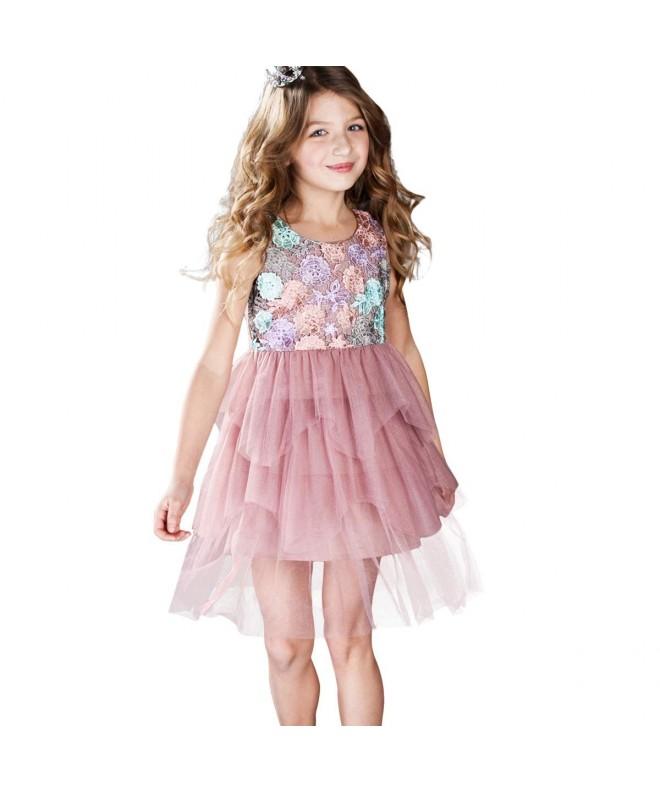 CNMUDONSI Children Dresses Girls Summer
