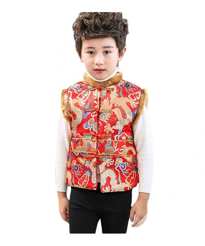 EXCELLANYARD Boys Chinese Winter Cotton padded