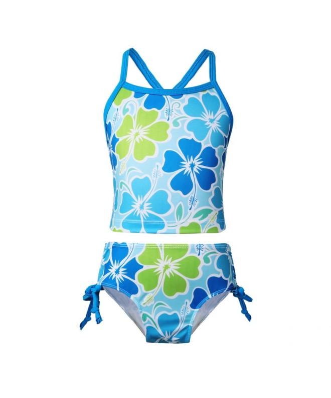 TiaoBug Tankini Swimsuit Holiday Bathing