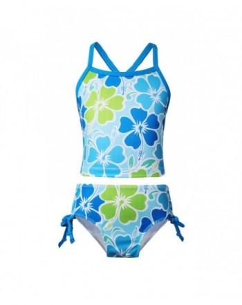 Cheap Girls' Two-Pieces Swimwear