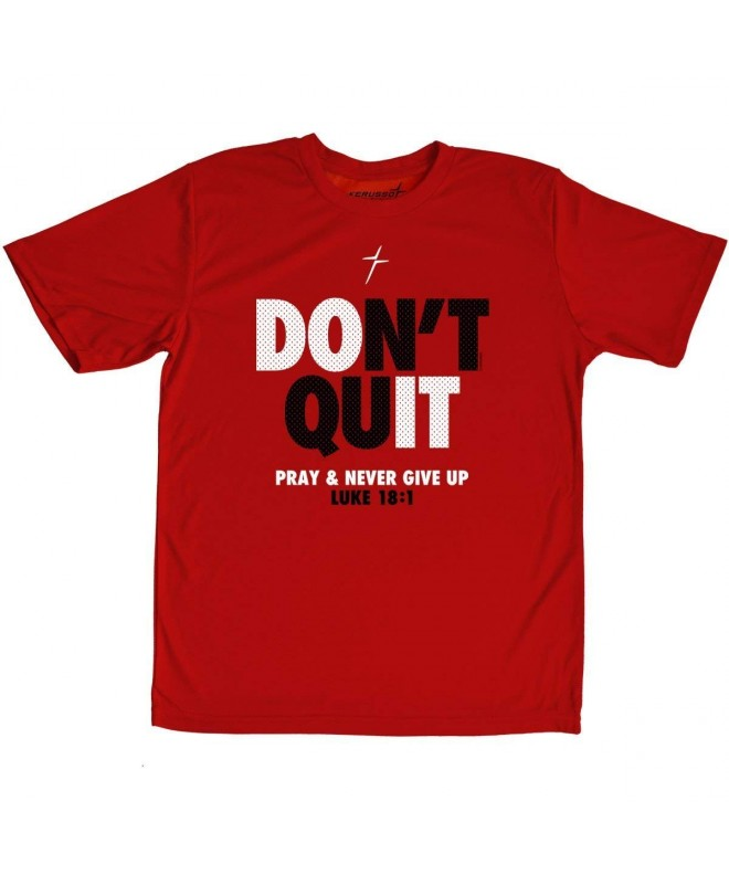Kerusso Youth Christian T Shirt Never